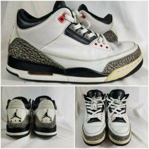 Nike Air Jordan 3 Retro Infrared 23 Mens Size 13